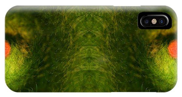 Eyes Of The Garden-2 IPhone Case