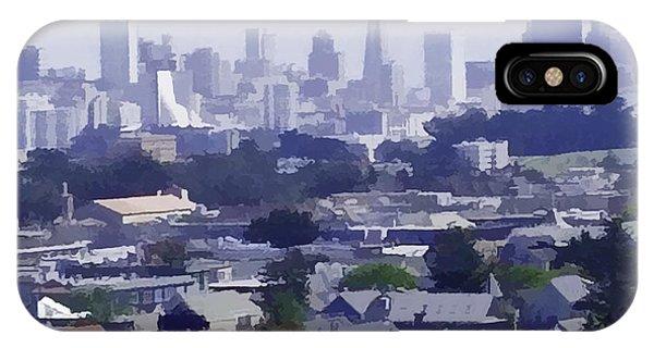 Looking East Toward San Francisco IPhone Case
