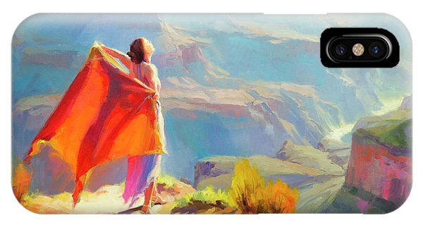Grace iPhone X Case - Eyrie by Steve Henderson
