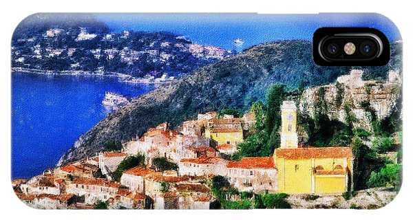 Eze And Cap Ferrat IPhone Case
