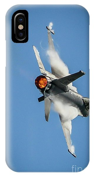 F-16 Banks Right IPhone Case