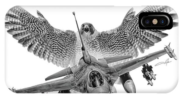 Viper iPhone Case - F-16 Fighting Falcon by Dale Jackson