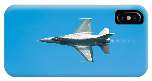 F-16 Full Speed IPhone Case