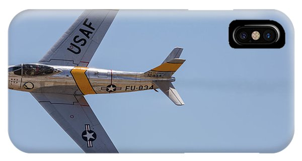 F-86 Jolley Roger IPhone Case