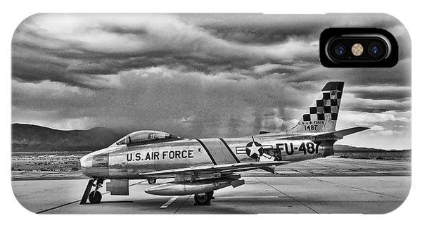F-86 Sabre IPhone Case