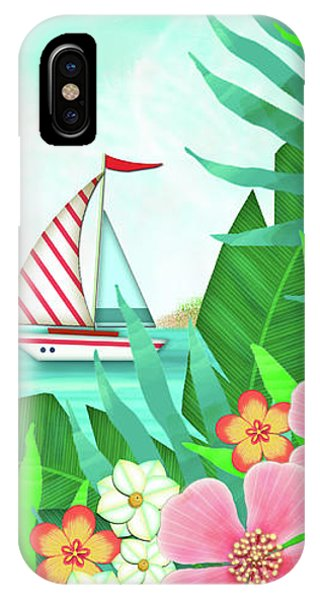 F Is For Flamingo IPhone Case