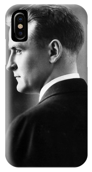 F. Scott Fitzgerald Circa 1925 IPhone Case