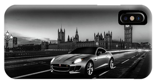 F-type In London IPhone Case