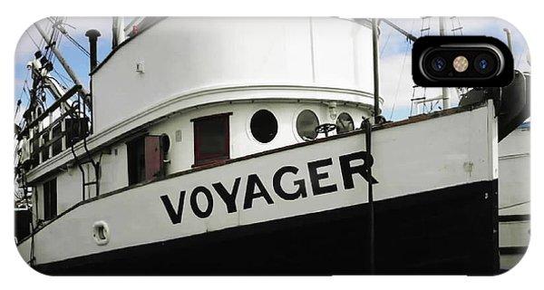 F V Voyager IPhone Case