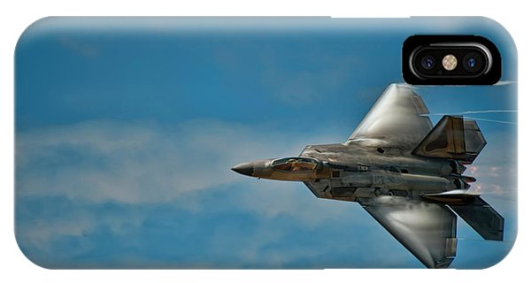 Oahu iPhone Case - F22 Raptor Steals The Show by Dan McManus