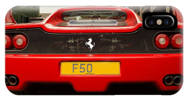 F50 Tail IPhone Case