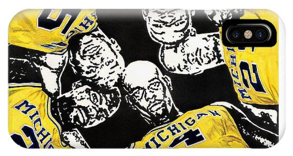Fab Five At 25 IPhone Case