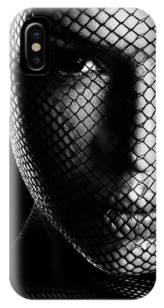 Face Lacemasked #4719 IPhone Case