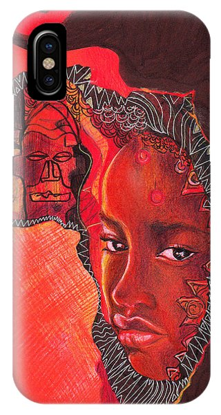 Face Of Africa IPhone Case