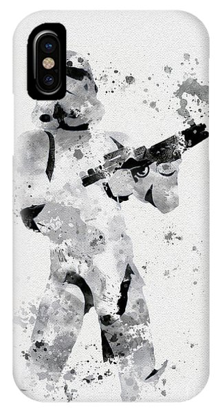 Faceless Enforcer IPhone Case