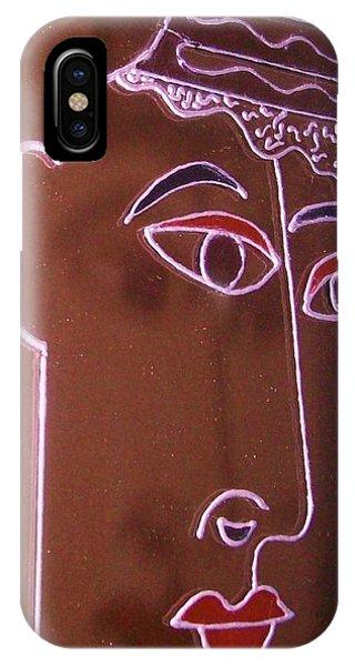 Faces And Alphabets Phone Case by Sylvia Hanna Dahdal