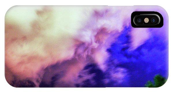 Nebraskasc iPhone Case - Faces In The Clouds 002 by NebraskaSC
