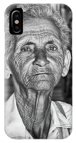 Faces Of Cuba The Woman In Need IPhone Case