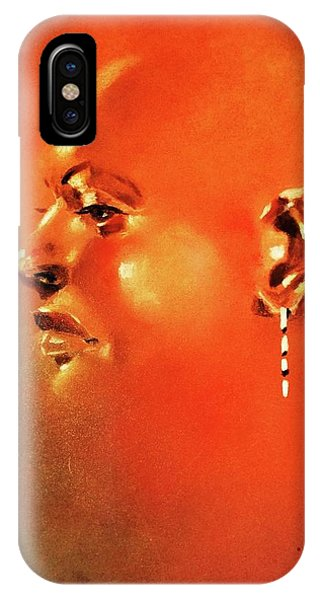 Facial Vignette In Profile IPhone Case