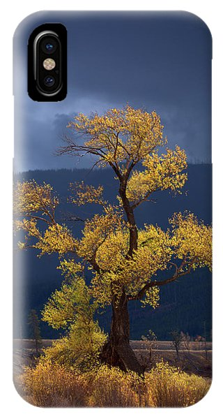 Teton iPhone Case - Facing The Storm by Edgars Erglis