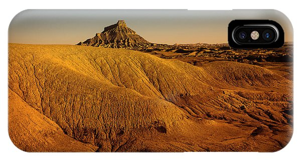 Factory Butte IPhone Case