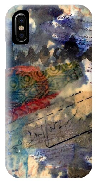 Faded Fantasies 4 IPhone Case