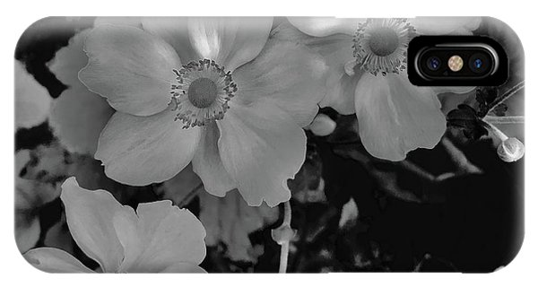 Faded Flowers IPhone Case
