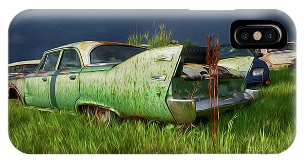 iPhone Case - Rust Never Sleeps 4 by Bob Christopher