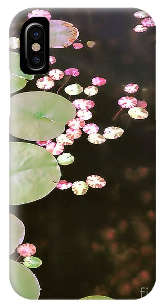 Fading Lily Pads IPhone Case