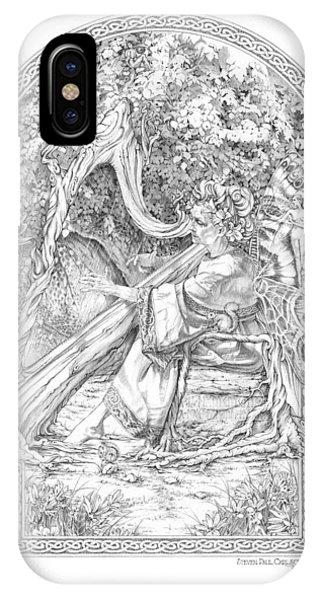 Faerie IIi - Woodland Opus - A Legendary Hidden Creation Series Phone Case by Steven Paul Carlson