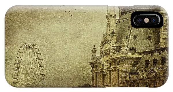 The Louvre iPhone Case - Fairground by Andrew Paranavitana