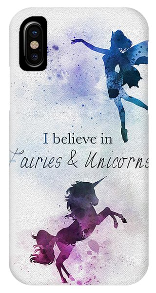 Fairy iPhone Case - Fairies And Unicorns by My Inspiration