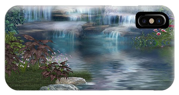 Fairies Hidden Lake IPhone Case