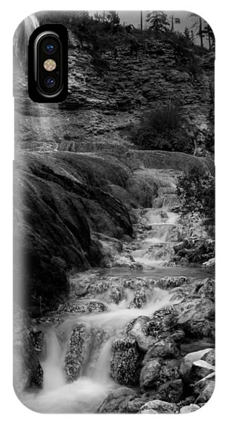 Fairmont Waterfall IPhone Case
