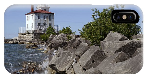 Fairport Harbor Lighthouse IPhone Case