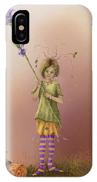 Fairy Bella Lavender IPhone Case