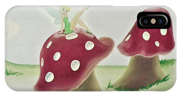 Fairy On Mushroom Trees IPhone Case