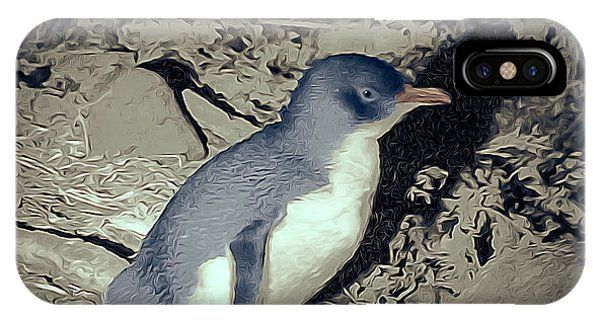 Wilsons Promontory iPhone Case - Fairy Penguin Tasmania by Teresa A and Preston S Cole Photography
