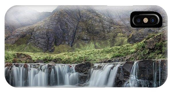 Fairy Glen iPhone Case - Fairy Pools - Isle Of Skye by Joana Kruse
