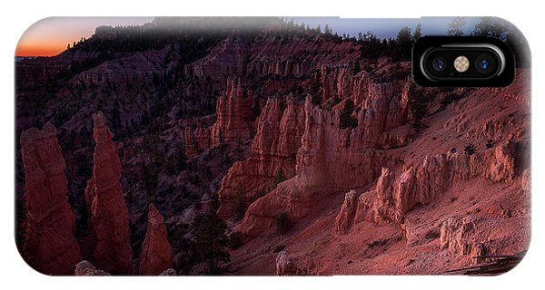 IPhone Case featuring the photograph Fairyland Canyon by Edgars Erglis