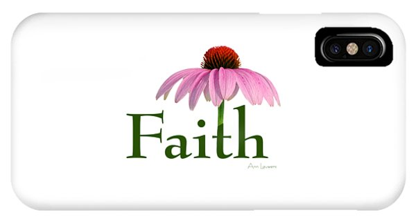 Faith Coneflower Shirt IPhone Case