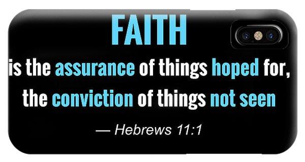 Faith iPhone Case - Faith by Greg Joens
