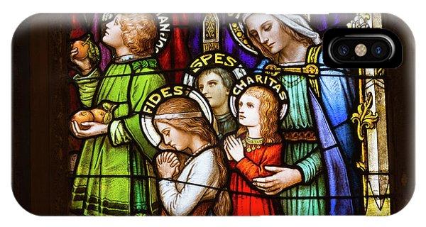 Faith, Hope, And Charity IPhone Case