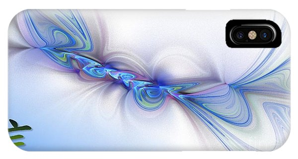 IPhone Case featuring the digital art Faith by Sandra Bauser Digital Art