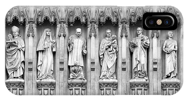 Westminster Abbey iPhone Case - Faithful Witnesses - 2 by Stephen Stookey