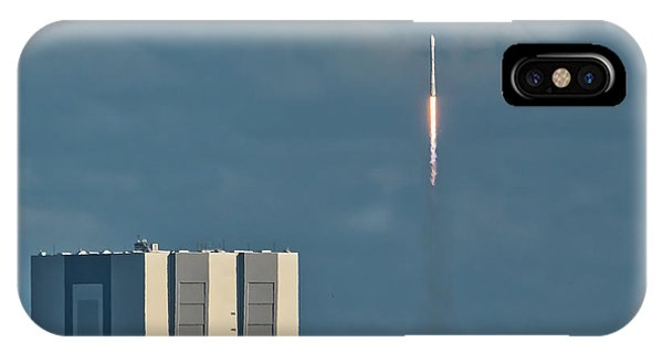 Falcon 9 Launch IPhone Case