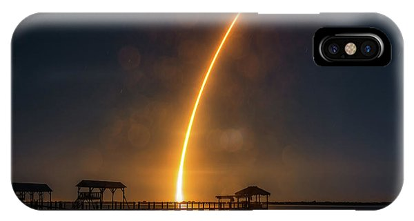 Falcon 9  Night Launch IPhone Case