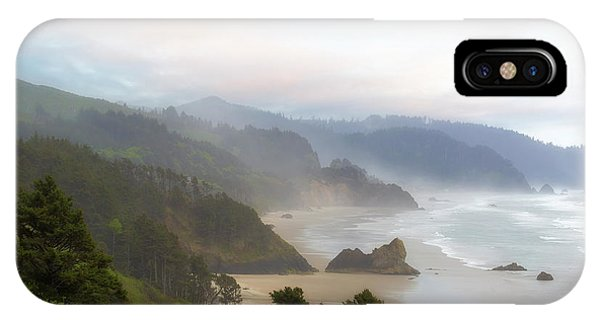 iPhone Case - Falcon And Silver Point At Oregon Coast by David Gn