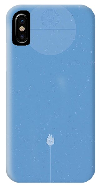 Astronaut iPhone Case - Falcon Attack by Samuel Whitton
