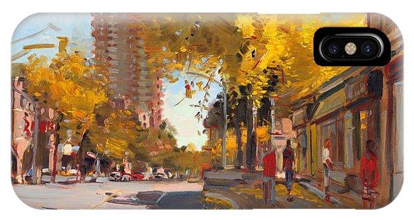 In iPhone Case - Fall 2010 Canada by Ylli Haruni